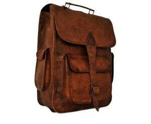 Vintage Leather Backpack | eBay