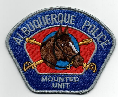 NEW MEXICO NM ALBUQUERQUE POLICE MOUNTED UNIT NICE PATCH SHERIFF