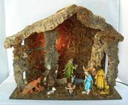 Large Vintage Nativity