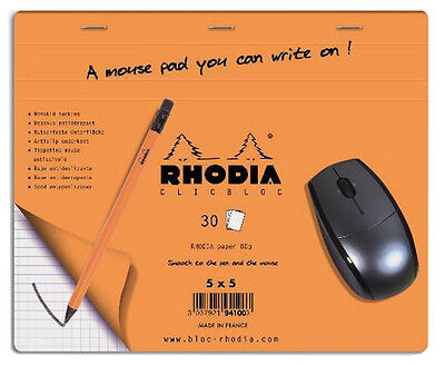 Rhodia Boutique Mouse Pad 7.5 X 9 Accessory - R19410
