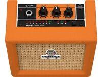 Orange Micro Crush 3W Guitar Amplifier Practice Mini Amp with Tuner & Overdrive,NEW IN BOX