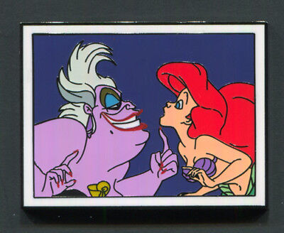 "Disney Pin ""ARIEL & URSULA"" 2017 Disney Films Mystery Little Mermaid"