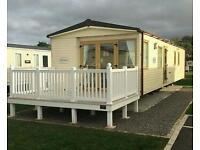 2 Privately owned static caravans for hire...LOOE BAY CORNWALL and DONIFORD BAY SOMERSET.