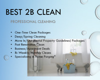 Best 2B Clean Professional Cleaning