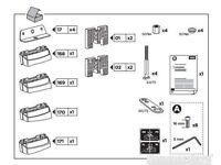 Thule 3117 fixing kit Mercedes A class