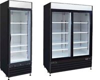 New Single and Double Door Cooler Sale Starting at $1,485