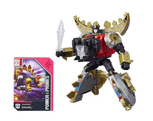 Transformers Generations Power Of The Primes Deluxe Dinobot SNARL NIB SEALED - $89.99