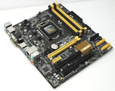 Asus B85M-E B85M E mATX Mainboard Intel Sockel 1150 HDMI Displayport DVI VGA PCI
