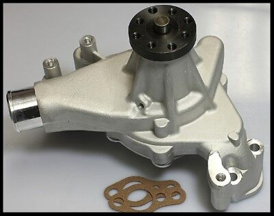 Long Water Pump - SBC CHEVY LONG WATER PUMP WITH ALUMINUM IMPELLER 8012-S