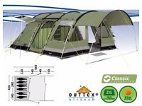 Bear Lake 6 polycotton tent in excellent condition. Perfect for family all weather camping