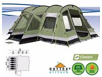 Outwell Montana Lake 6 berth pollycotten tent