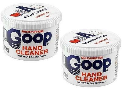 Goop Hand Cleaner & Stain Lifter 2 14oz Jars