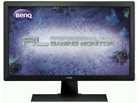 BENQ GAMING MONITOR 1MS RESPONSE TIME BUILT IN SPEAKERS 24INCH 1080P rl2455hm