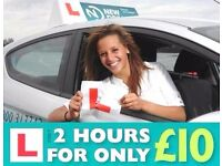 Driving Lessons - FEMALE, Gravesend area
