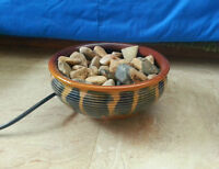 Tabletop Water Fountain with Stones