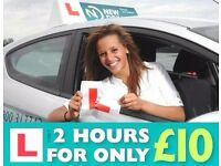 Driving Lessons - Gravesend and surrounding DA postcodes