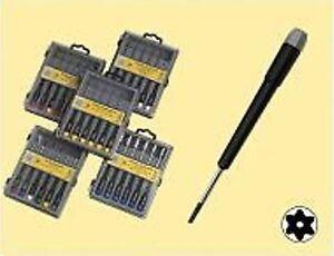 hochwertiges torx dreher mit innenloch set 6 tlg f r feine arbeiten geeignet ebay. Black Bedroom Furniture Sets. Home Design Ideas