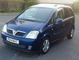 Cheap diesel 2005 Vauxhall Meriva 1.7 cdti for sale.