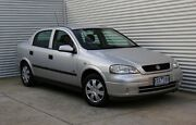 2002 Holden Astra TS CD Silver 4 Speed Automatic Sedan Thomastown Whittlesea Area Preview