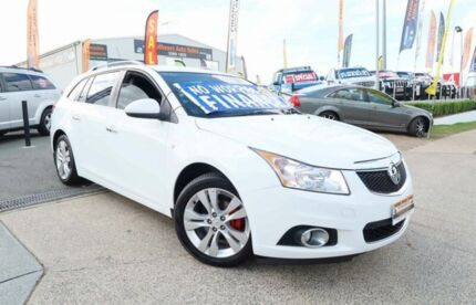 2013 Holden Cruze JH Series II MY13 CDX Sportwagon White 6 Speed Sports Automatic Wagon