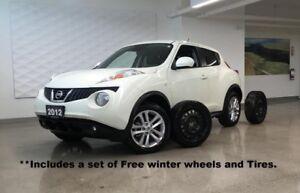 2012 Nissan JUKE AWD,SL, Navigation, Leather Sunroof WInter Whee