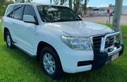 2008 Toyota Landcruiser VDJ200R GXL White 6 Speed Automatic Wagon Berrimah Darwin City Preview