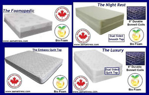 NEW *Queen &*King Mattress or Boxsprings NO TAX & *FREE DELIVERY London Ontario image 2