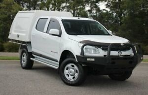 2015 Holden Colorado RG MY15 LS Crew Cab White 6 Speed Sports Automatic Cab Chassis Officer Cardinia Area Preview