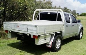 2013 Nissan Navara D40 S7 MY12 RX Silver 6 Speed Manual Cab Chassis Bundaberg West Bundaberg City Preview