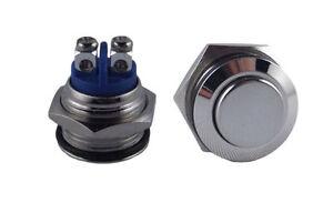 Drucktaster Taster Druckschalter Knopf Taste 6V 9V 12V 24V 36V 48V KFZ START SMD