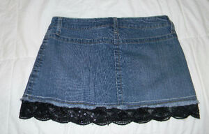 Dressy Jean Mini with sequence   Size 9 - fits a bit smaller (yo Windsor Region Ontario image 1