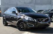 2012 Volvo S60 F Series MY12 T6 Geartronic AWD Black 6 Speed Sports Automatic Sedan Osborne Park Stirling Area Preview