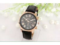 Men's Luxury Rose Gold Watch (new with tags)