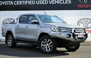 2017 Toyota Hilux GUN126R SR5 (4x4) Silver Sky 6 Speed Manual Dual Cab Utility Warwick Southern Downs Preview