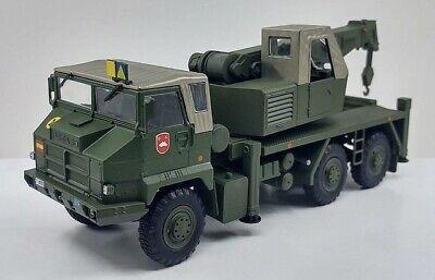 "Pegaso 7323 6x6 Military Crane Truck ""Spanish Army"" 1:43 IXO/ Altaya"