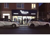 Nico's -Assistant Manager - Full time & Part time counter staff