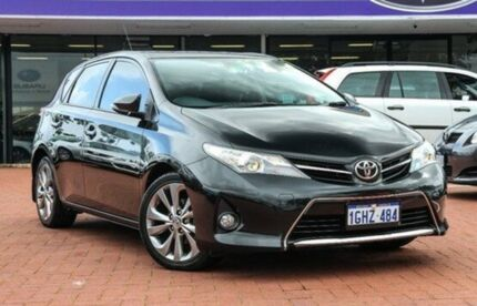 2012 Toyota Corolla ZRE152R MY11 Levin SX Black 4 Speed Automatic Hatchback