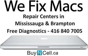 APPLE MAC REPAIR CENTERS 6 GTA LOCATIONS