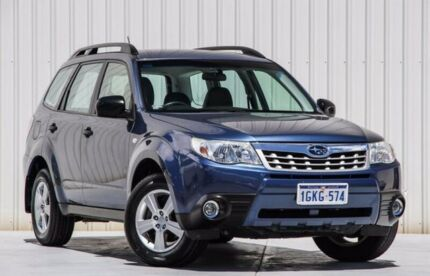 2012 Subaru Forester S4 MY13 2.5i-L Lineartronic AWD Blue 6 Speed Constant Variable Wagon