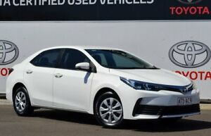 2017 Toyota Corolla ZRE172R MY17 Ascent Glacier White 7 Speed CVT Auto Sequential Sedan Warwick Southern Downs Preview