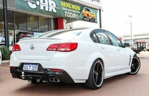 2015 Holden Commodore VF MY15 SV6 Heron White 6 Speed Sports Automatic Sedan