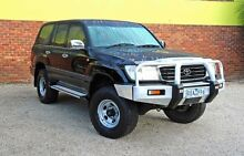 2001 Toyota Landcruiser FZJ105R GXL Black 5 Speed Manual Wagon Upper Ferntree Gully Knox Area Preview