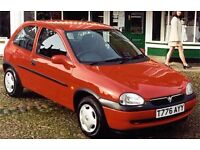 Vauxhall Corsa Wanted