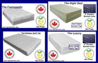NEW DOUBLE MATTRESSES & BOX SPRINGS! STUDENT DISCOUNTS
