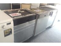 INTEGRATED DISHWASHERS ONLY £100 with warranty
