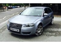 AUDI A3 1.9 TDI S-LINE 3DR Manual (silver) 2004