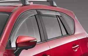 Mazda 3 Genuine Rear Weathershields Toowoomba Toowoomba City Preview