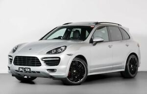 2013 Porsche Cayenne 92A MY13 GTS Tiptronic Silver 8 Speed Sports Automatic Wagon Port Melbourne Port Phillip Preview