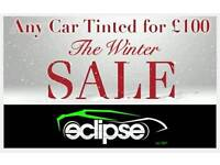Any Car Tinted for just £100