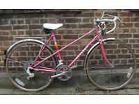 Vintage road bike PEUGEOT - size 19in, mint condition, serviced, warranty - Welcome for ride :)